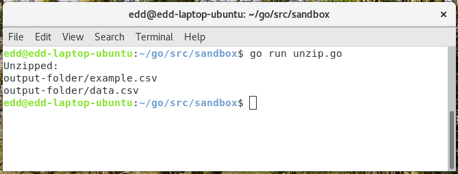 Linux Unzip To Directory Command