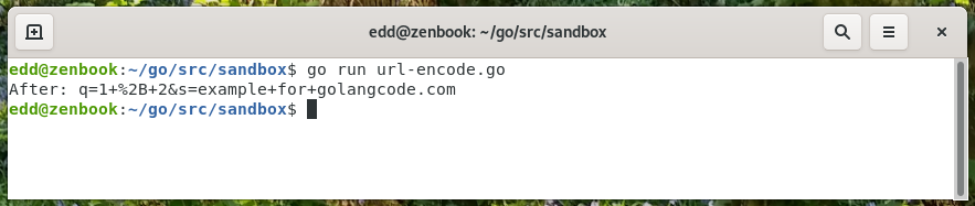 url encode query string with values